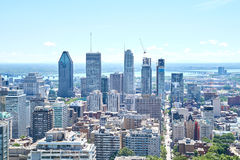 Scenic view of summer Montreal Stock Images
