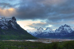 A  Scenic view in Tierra del Fuego, Argentina Royalty Free Stock Photo