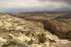 Scenic view to Canyon. Grand Staircase-Escalante, Utah, USA Stock Photo