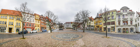 Scenic view to old town of Gotha in Thuringia Royalty Free Stock Photo