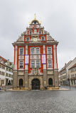 Scenic view to old town hall in Gotha Stock Images