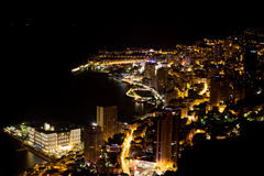 Scenic view from top of Monaco Stock Photography