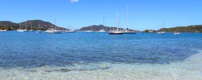Scenic view on Tortola Stock Photography