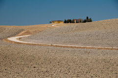 A scenic view of Tuscany , Italy Royalty Free Stock Images