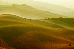 Scenic view of Tuscany landscape Stock Photography