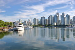 Scenic View of Vancouver, Canada Royalty Free Stock Photos