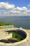 Scenic view of Varna bay,Bulgaria Royalty Free Stock Image
