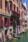 Scenic view of venetian old building, Venice, Italy Royalty Free Stock Image