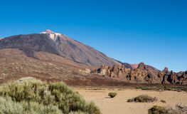 Scenic view of volcano Teide Stock Photos