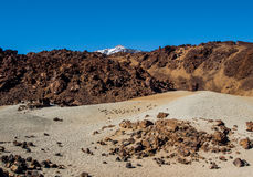 Scenic view of volcano Teide Stock Photo