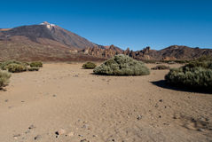 Scenic view of volcano Teide Royalty Free Stock Photo