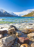 Scenic view of Waterton Lakes National Park Stock Photography
