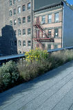 Scenic views along the High Line Stock Images