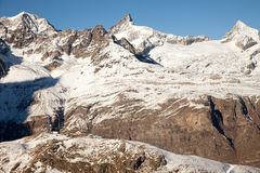Scenic views around Zermatt and Matterhorn, Switzerland Stock Image