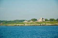 Scenic Views of Block Island in Rhode Island. royalty free stock photography