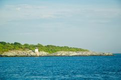 Scenic Views of Block Island in Rhode Island. royalty free stock photo