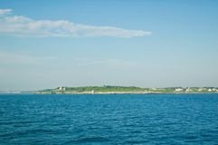 Scenic Views of Block Island in Rhode Island. stock photography