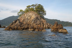Scenic views of the coastline of archipelago Koh Lipe Island Stock Photos