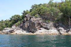 Scenic views of the coastline of archipelago Koh Lipe Island Royalty Free Stock Images
