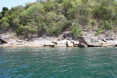 Scenic views of the coastline of archipelago Koh Lipe Island Stock Image