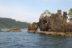 Scenic views of the coastline of archipelago Koh Lipe Island Royalty Free Stock Image