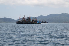 Scenic views of the coastline of archipelago Koh Lipe Island Royalty Free Stock Photo