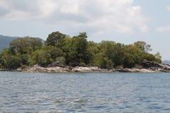 Scenic views of the coastline of archipelago Koh Lipe Island Stock Photo