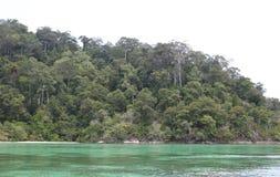 Scenic views of the coastline of archipelago Koh Lipe Island Royalty Free Stock Photos