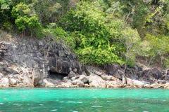 Scenic views of the coastline of archipelago Koh Lipe Island Stock Images