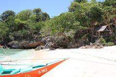 Scenic views of the coastline of Boracay Island Stock Images