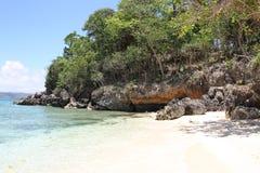 Scenic views of the coastline of Boracay Island Royalty Free Stock Image