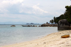Scenic views of the coastline of island Koh Samui Royalty Free Stock Photography