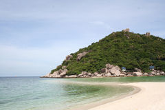 Scenic views of the coastline of island Nang Yang Stock Images