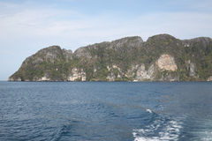 Scenic views of the coastline of Phi Phi Island Stock Photos