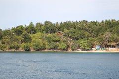 Scenic views of the coastline of Phi Phi Island Stock Image
