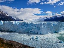 Scenic views of Glaciar Perito Moreno, El Calafate, Argentina stock photography