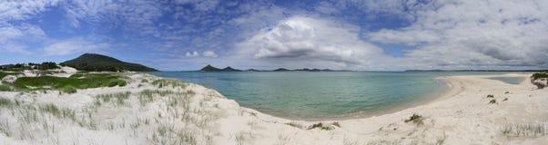 Scenic views of Havks Nest Panorama Royalty Free Stock Image