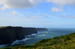 Scenic Views of Ireland`s Cliff`s of Moher in County Clare Royalty Free Stock Photos