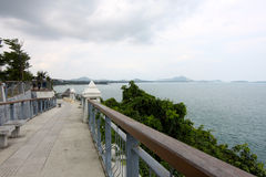 Scenic views of the ocean on the island of Koh Samui Royalty Free Stock Images