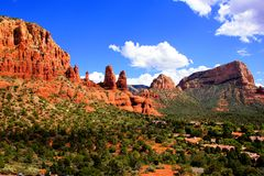 Scenic views of Sedona, USA Royalty Free Stock Image