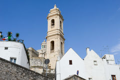 The scenic village of Locorotondo on Puglia Royalty Free Stock Photography