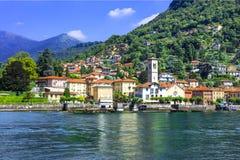 Scenic village Torno - Lago di Como, Italy Royalty Free Stock Image