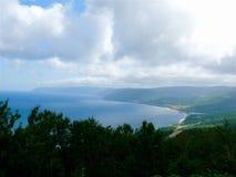 Shores of Cape Breton. Scenic vista along the shores of Cape Breton, Nova Royalty Free Stock Photos