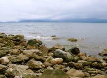 Shores of Cape Breton. Scenic vista along the shores of Cape Breton, Nova Royalty Free Stock Photography