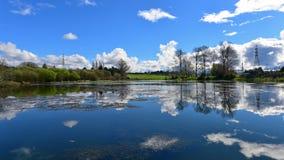 Scenic Waikato River at Whakamaru Royalty Free Stock Photo