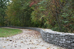 Scenic walkway with foreground focus Stock Image