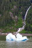 Scenic Waterfall in Alaska Royalty Free Stock Photo