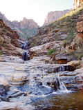 Scenic Waterfall in Arizona royalty free stock images