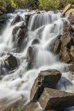 Mountain Waterfall Close Up Stock Photos