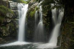 Scenic waterfall in huang san ,china Royalty Free Stock Photos